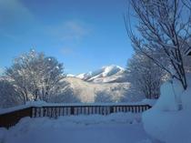 真冬の晴れた日