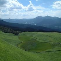 初夏の曽爾高原