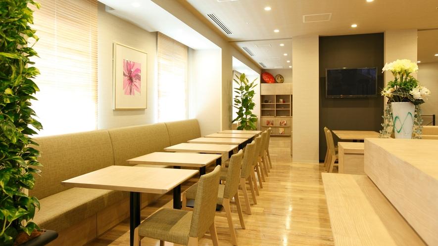 【6Fレストラン「Hatago」】朝食営業時間:6:30~9:30(LO.9:00)