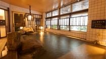【男性大浴場天然温泉〜内湯〜】(温度:40~41℃)