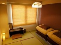 和室のツインルーム【バス・トイレ付き】