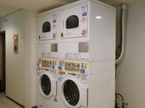 【コインランドリー】 洗濯機:200円/1回   乾燥機:100円/40分