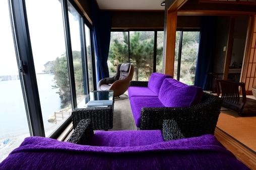 南館 海の見える特別室12畳+縁側6畳 バス・トイレ付