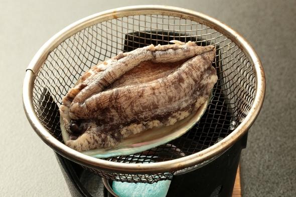 【アワビ&2名から金目鯛の煮付け付】勝浦の磯料理と4種類のお風呂で温泉を満喫!
