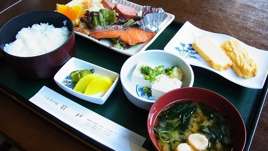 *【朝食一例】元気な一日の始まりは朝ご飯から!和定食をレストランにてご用意!