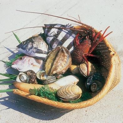 ☆個室食×貸切風呂☆【贅沢海鮮】伊勢海老×あわび付き新鮮な魚介類を凝縮【名鉄船20%OFF】
