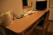 シングルルームテーブル