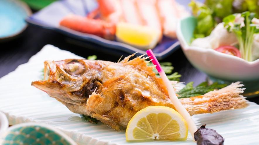 *【夕食一例】島根を代表する高級食材「のどぐろ」