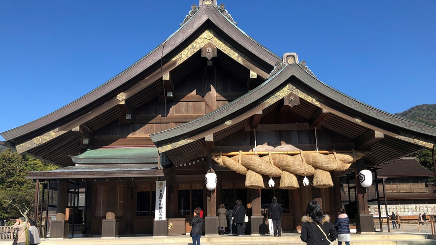 *【出雲大社】当館から車で約15分。島根旅にはかかせない!