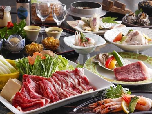 【夏旅セール】朝夕個室食事処★但馬牛づくし250g★すき焼きxステーキ100g