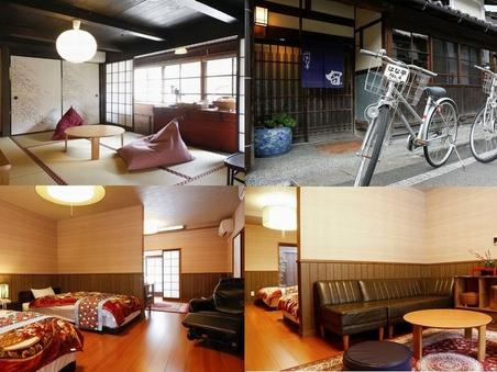 宙の棟70平米★3間続き和洋室(寝室+居間)バストイレ付