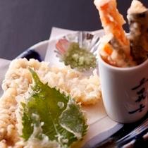 朝来野菜天ぷら