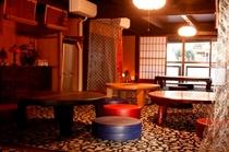 食事処町屋 カフェ【寺子屋】内部・明治の町屋風情のまま改装