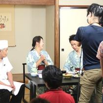 *【TV取材風景・2014】秋の味覚プランが、TV番組『夕方ワイド新潟一番』で取り上げられました!