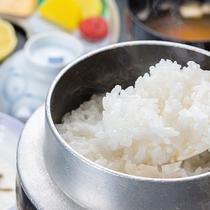 *【朝食一例】三川産のコシヒカリ!生産量が少なく、県外にはほとんど流通しない希少なお米です!