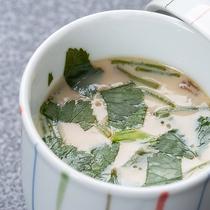 *【茶碗蒸し】ふわふわな食感にダシの風味が優しく口の中で広がります
