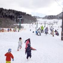 *三川・温泉スキー場