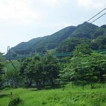 *【周辺】美しい渓谷に囲まれた塩原温泉には、多くの美しい吊橋が点在しています。