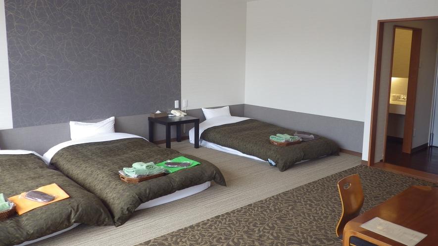 *【客室】客室は全て南向きで、明るく開放的です