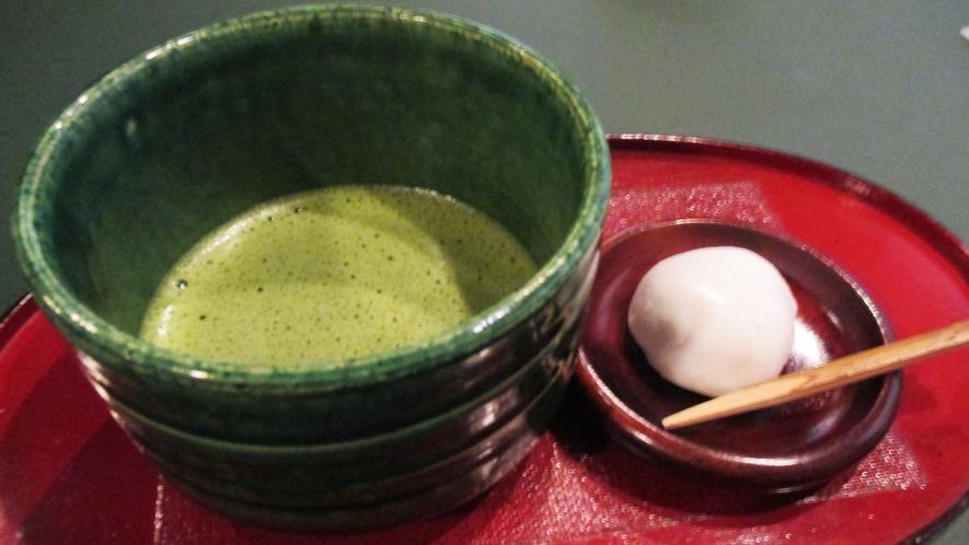 *【お茶とお茶菓子】