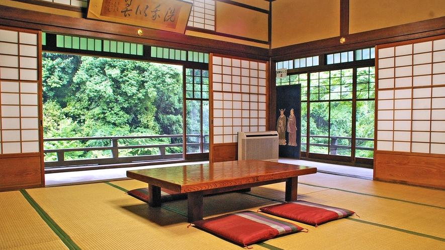 *本館(江戸時代建築)の一番いいお部屋 書院の間