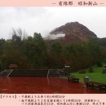 【観光】 昭和新山