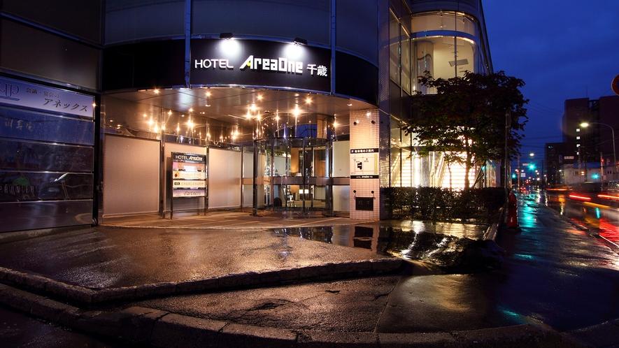 ★ホテルの外観★毎朝新千歳空港まで無料バス運行中♪※予約制※