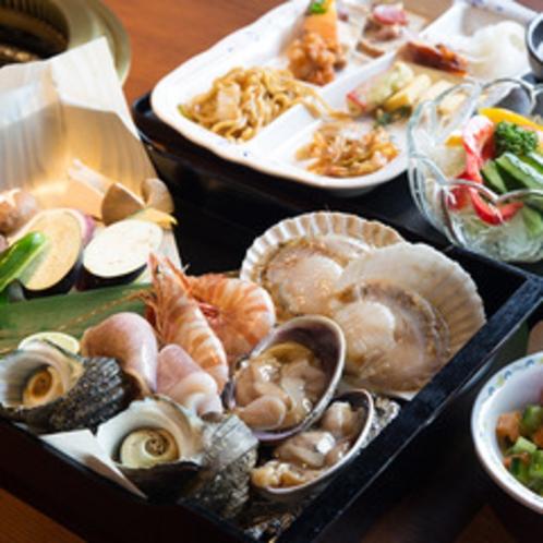 シーアイガの海鮮BBQセット
