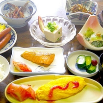 *朝食一例/しっかり栄養を付けて元気に1日を!