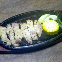 *別注料理/黒豚のステーキ