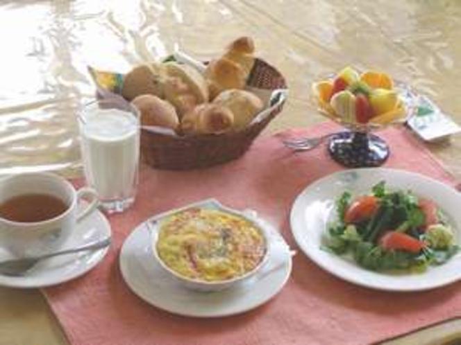 或る日の朝食メニューです。