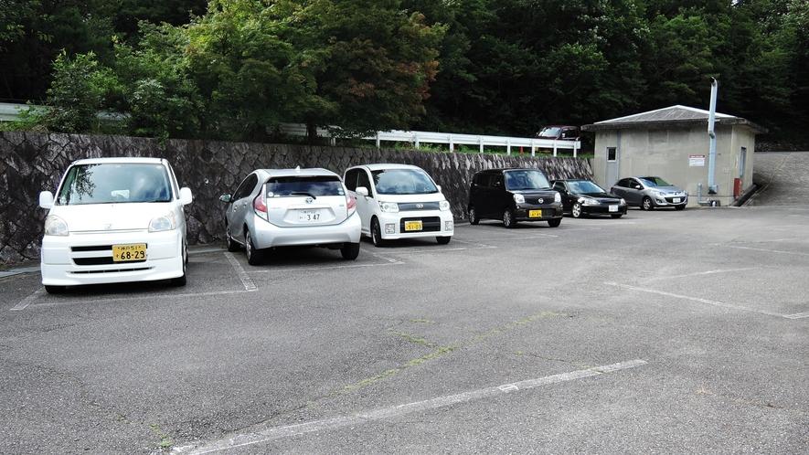 *敷地内一例:駐車場