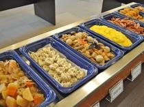 【朝食バイキング】ご飯がすすむおかずで朝からお腹いっぱいに!