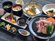 【ご夕食】ながぬまの膳一例