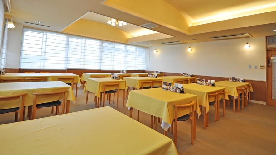 【レストランはまなす】朝食会場はこちらです。