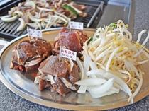 【別棟物産館2F】3種のジンギスカンを食べくらべ!