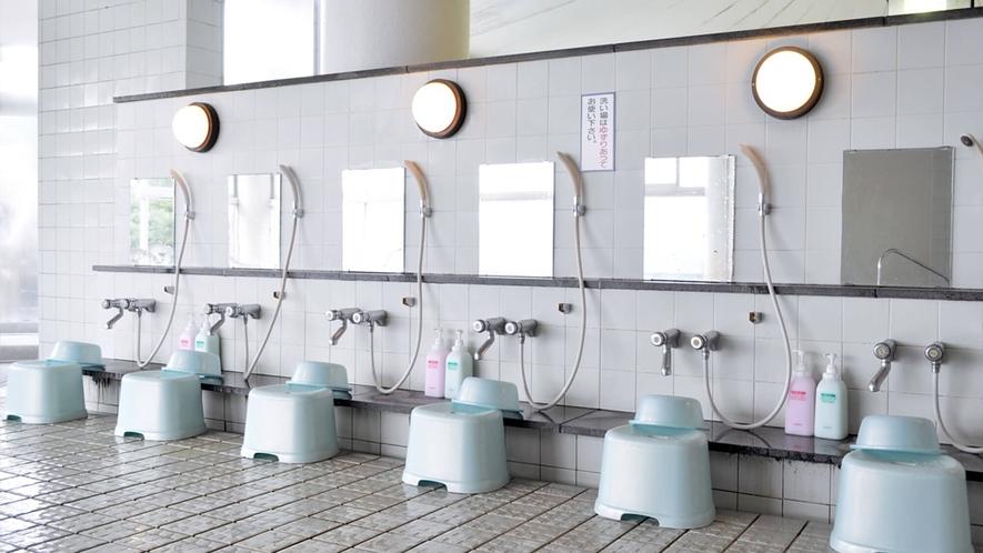 【入浴設備】洗い場:リンスインシャンプー・ボディソープ完備