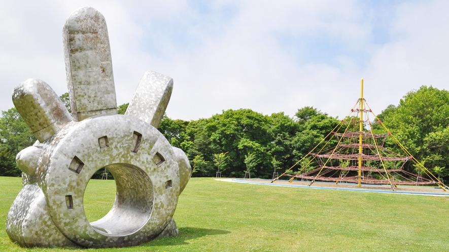 【周辺】ながぬまコミュニティ公園の大きいネットツリー