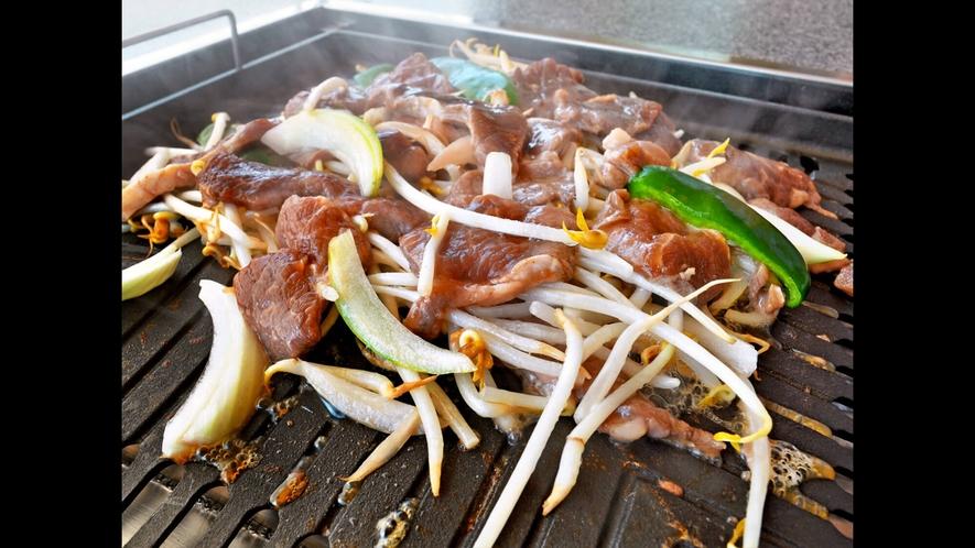 【別棟物産館2F】新鮮野菜とともにおいしいジンギスカンをぜひどうぞ☆
