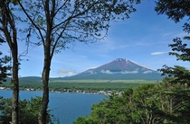 テラスからの眺望(富士山)