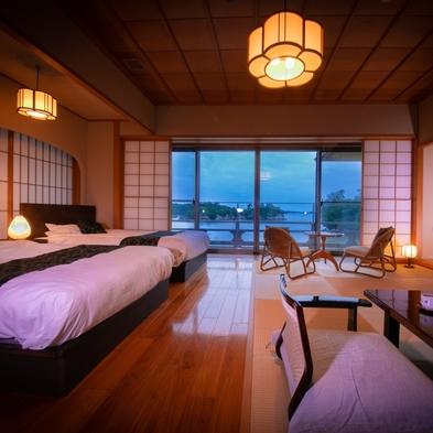 お部屋指定 12.5帖1間 和室(ベッド付)基本宿泊プラン