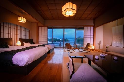松島湾を望む和室(ベッド付)