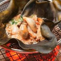 牡蠣の松前焼き