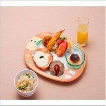 お子様ランチ(夕食例) 500