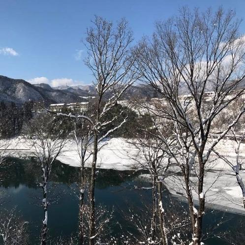 赤谷湖・冬