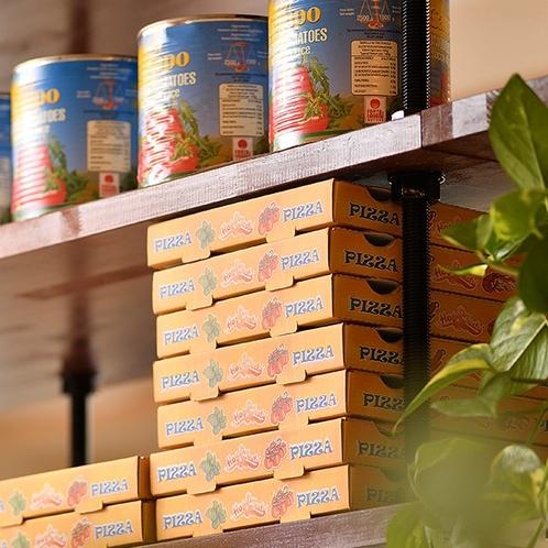 ナポリ空間を味わえるピッツェリア