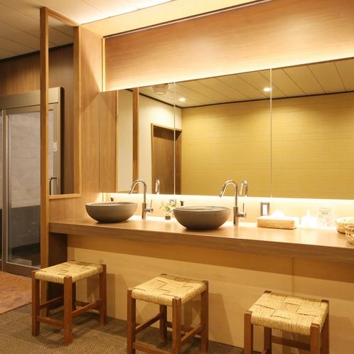 大浴場・洗面台