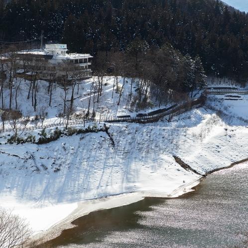 湖郷外観(冬)