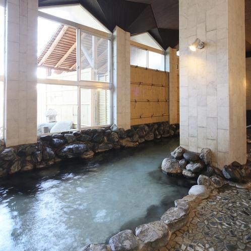 大浴場 岩風呂