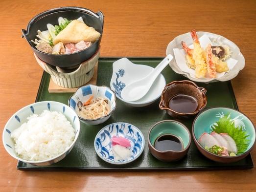 【夕食付き】旬の和食定食プラン☆